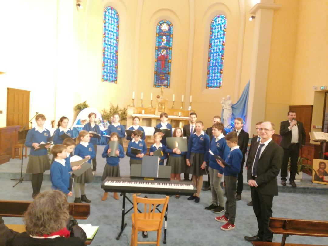 Concert petits chanteurs maîtrise cathédrale de Grenoble